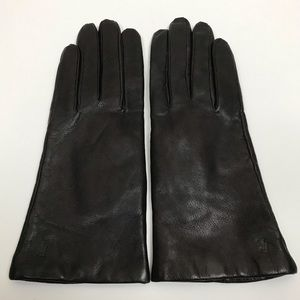Ralph Lauren leather, cashmere & lambs wool gloves